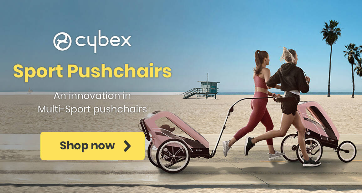 Cybex Sport Pushchairs - An innovation in Multi-Sport pushchairs