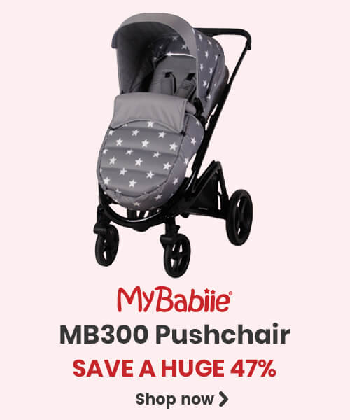 Save a HUGE 47% on My Babiie MB300 Pushchair