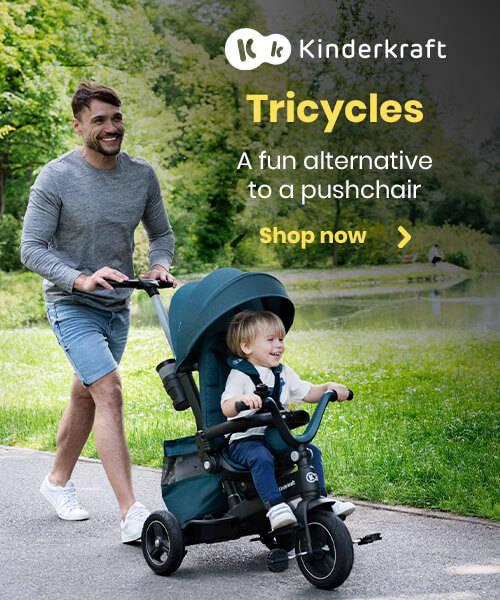 Kinderkraft Tricycles - A fun alternative to a pushchair