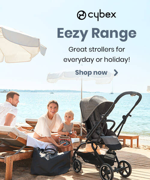 Cybex Eezy Range - Great strollers for everyday or holiday!