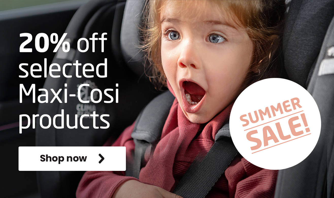 20% off selected Maxi-Cosi products