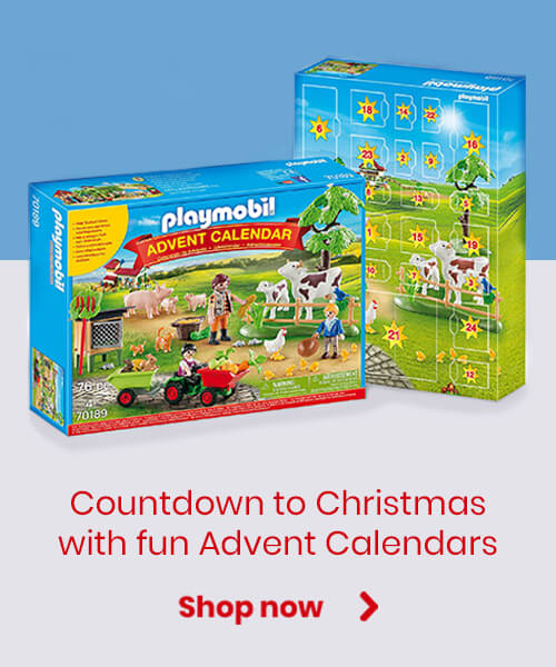 Countdown to Christmas with fun advent calendars
