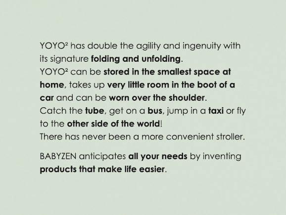YOYO2 folding and unfolding