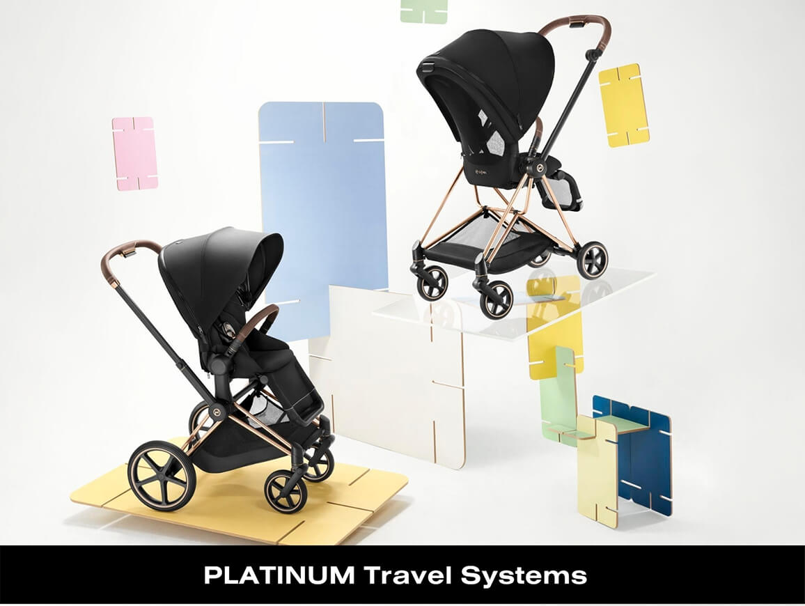 Cybex PLATINUM Travel Systems
