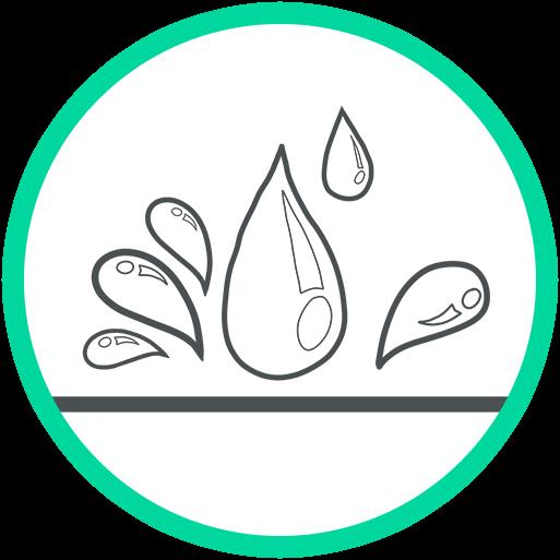 consider a waterproof panel