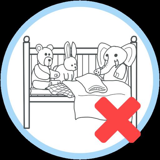 keep your baby's sleep space simple